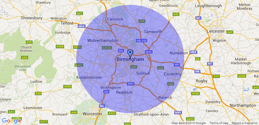 Tree Surgeon Service Area, Tree Surgeons, Birmingham Tree Surgeons
